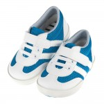 台灣製藍白潮款透氣寶寶休閒鞋(13.5~16公分)