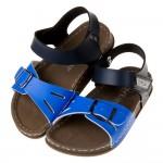 (15~20公分)台灣製超輕量柔軟藍色歐風兒童涼鞋