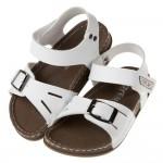 (15~20公分)台灣製超輕量柔軟白色歐風兒童涼鞋