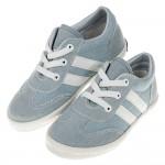 (17~21.5公分)經典百搭台灣製牛仔藍兒童帆布休閒鞋