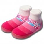 Feebees糖果款BerryCandy草莓糖寶寶機能襪鞋(...