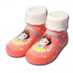 Feebees夢幻島OrangePrcs橘子公主寶寶機能襪鞋...