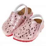 (14.5~20.5公分)台灣製麂皮亮晶晶兒童歐風氣墊護趾拖...