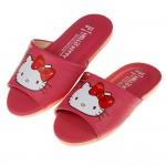 (18~25公分)HelloKitty凱蒂貓粉色蝴蝶結兒童室內拖鞋