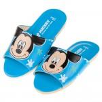 (18~22公分)Disney迪士尼米奇藍色台灣製兒童室內拖鞋