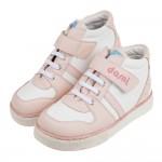 (19~24公分)台灣製粉色經典中筒兒童預防矯正鞋休閒鞋R#...