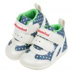 (13~15公分)台灣製小星星深藍色中筒寶寶機能學步鞋R#M...