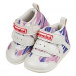 (13~15公分)台灣製星光紫粉中筒寶寶機能學步鞋R#MB3...