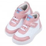 (15~19公分)台灣製白底粉色中筒兒童預防矯正鞋休閒鞋R#...